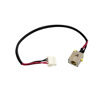 GinTai DC Power Jack Cable Replacement for Acer Aspire E5-575 DD0ZRKAD000 DD0ZAAAD000 10pcs