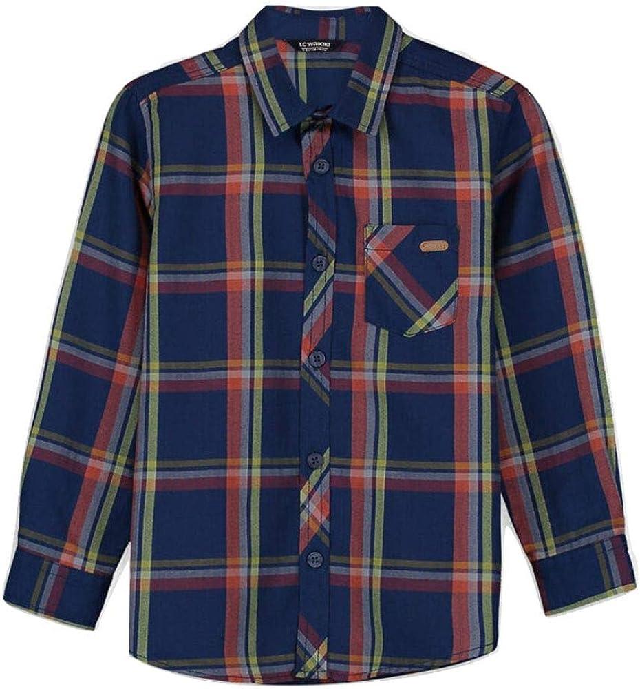 LC Waikiki - Camisa de popelina para niño azul oscuro 7-8 ...