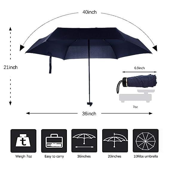 d59d7cd0b290 Amazon.com: Joint Gou Mini Umbrella Travel Compact Pocket Umbrellas ...