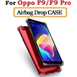 Lokezeep Anti Drop Back Case Cover for Oppo F9 Pro/Oppo F9 (2018) with Screen and Camera Protection with Bumper Corner (Transparent)