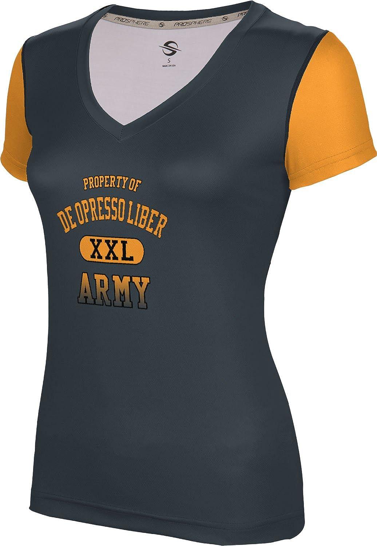 ProSphere Women's DE OPRESSO LIBER Military Crisscross SL V-Neck Training Tee