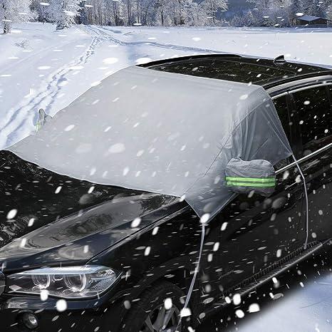 FWSS Copertura Parasole per Auto Protezione Parabrezza Interno Auto Parasole Ombrello Protezione UV Auto Anteriore E Lunotto Accessori Pieghevoli L