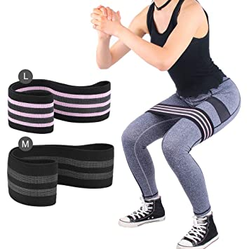 glute activation with resistance bands