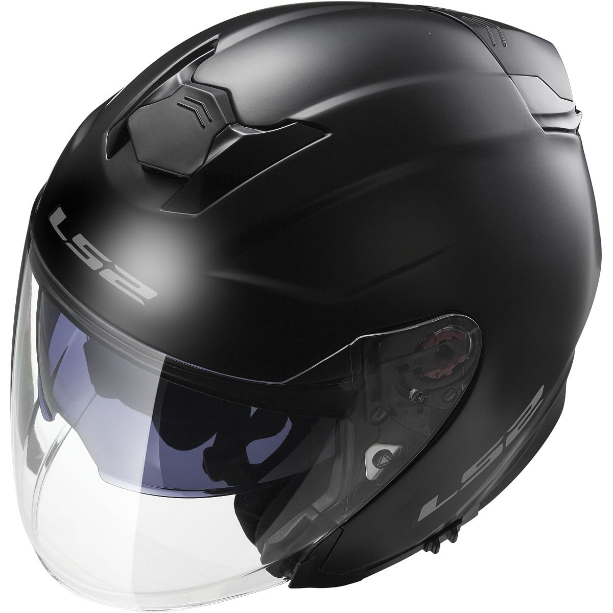 Amazon.com: LS2 Helmets Infinity Solid Open Face Off-Road Motorcycle Helmet with Sunshield (Gloss Black, X-Small): Automotive