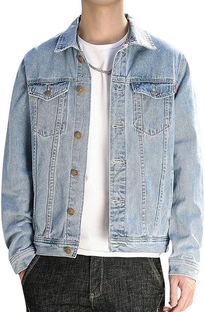 デニムジャケット メンズ フライトジャケット カジュアル コート メンズ ジージャン 大きいサイズ 無地 春秋 カジュアル通勤 通学