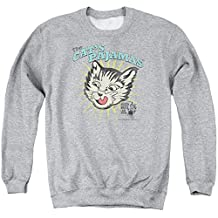Puss In Boots Animated Comedy Fantasy Movie Cats Pajamas Adult Crew Sweatshirt