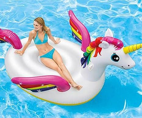 Flotador inflable gigante jumbo del anillo de la piscina del pavo real del cisne del flamenco ...