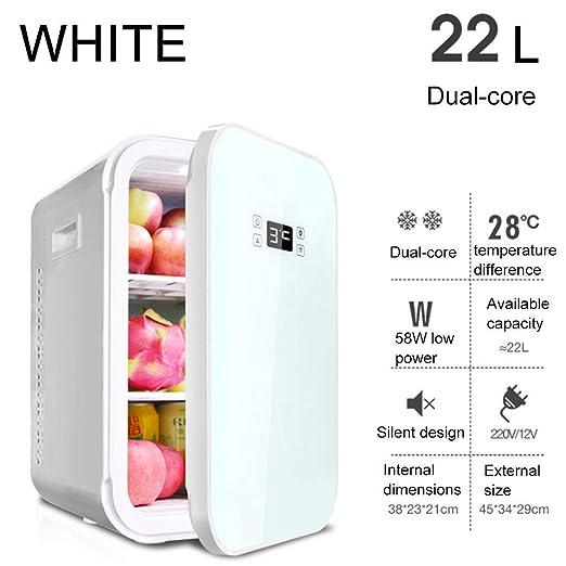 WERT 22L Mini Refrigerador Y Calentador Portátil De Coche Nevera ...