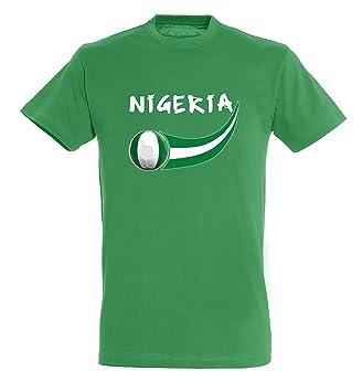 Supportershop - Camiseta Nigeria Hombre, Verde, FR: L (Talla Fabricante: L): Amazon.es: Deportes y aire libre