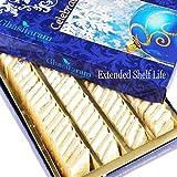 Ghasitaram Gifts Diwali Gifts Sugarfree Sweets - Pure Kaju Katlis Box, 200g