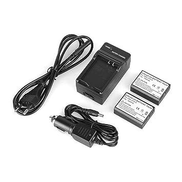 Niulyled Baterías - Baterías Y Cargador De 2PCS LP-E10 LP ...