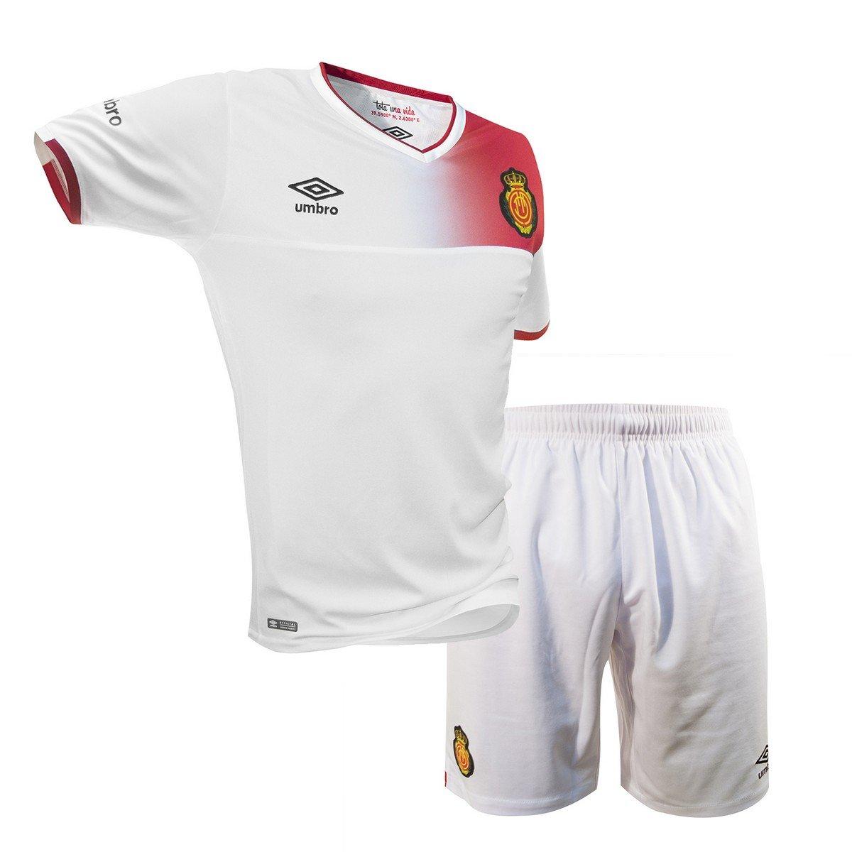Umbro 1ª Equipación RCD Mallorca 2016/2017 - Conjunto de Camiseta y pantalón Oficial niños: Amazon.es: Deportes y aire libre