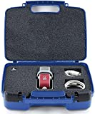 Life Made Better Storage Organizer - Compatible with Blue Raspberry,Mobile USB Studio Microphone And Accessories- Durable Carrying Case - Blue