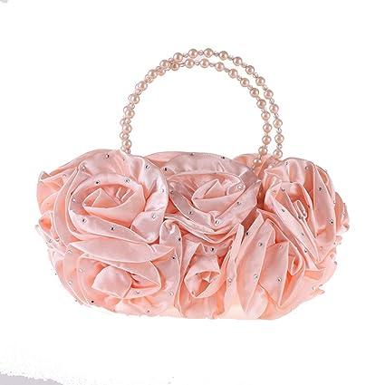 b9d46b3865 Fly Evening Bag Wholesale Simple Dress Small Bag Diamond Female Bag  Japanese Style Pearl Bag Evening Bag  Amazon.ca  Home   Kitchen