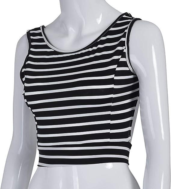 Qingsiy Atractivo De Las Mujeres De La Camiseta Femenina Sling con ...