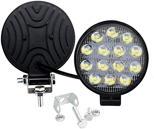 Heller LED FAROS trabajo 90 ° 12//24v lightpartz impermeable todoterreno camping