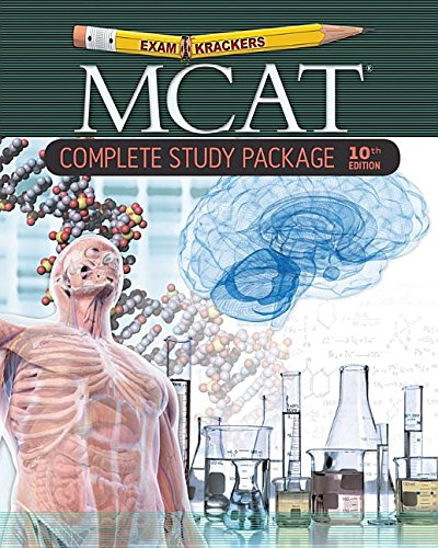 Examkrackers 10th Edition MCAT® Complete Study Package ...