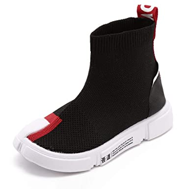 Fashion! Toddler Sport Sneakers,Kids Infant Boys Girls Mesh Letter Patchwork Ankle Boots Sport
