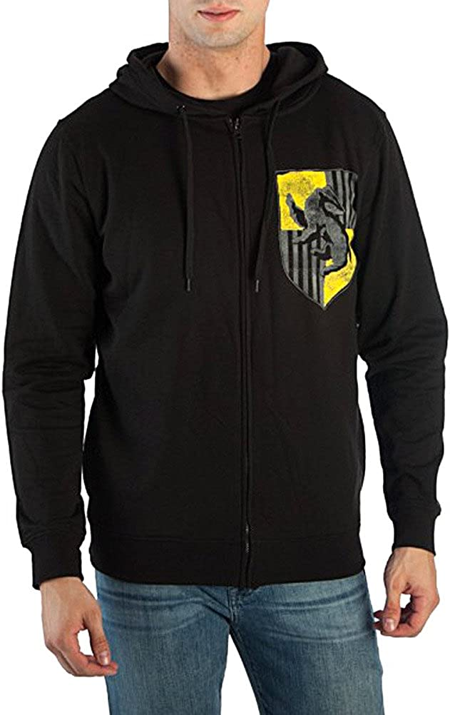 Harry Potter Coat of Arms Zip-up Hoodie Sweatshirt