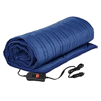 Coche Mantas eléctricas 12V Baja presión Al aire libre Pescar Calentamiento Mantas eléctricas Bolsa de dormir