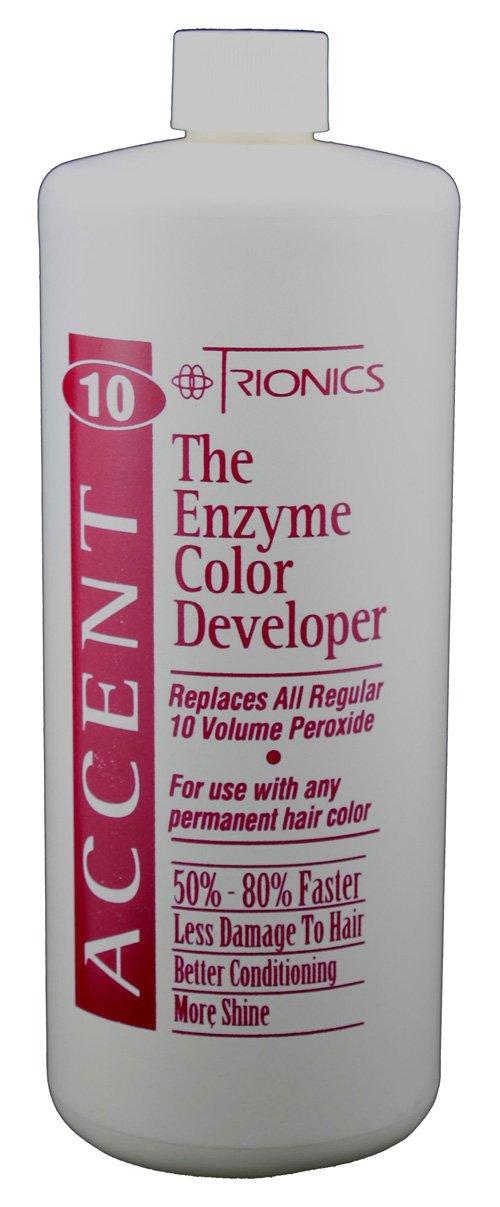 Amazon Trionics Accent 10 The Enzyme Color Developer Beauty