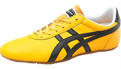 Onitsuka Tiger Baskets Tai Chi Cuir Homme Jaune/Noir taille 45
