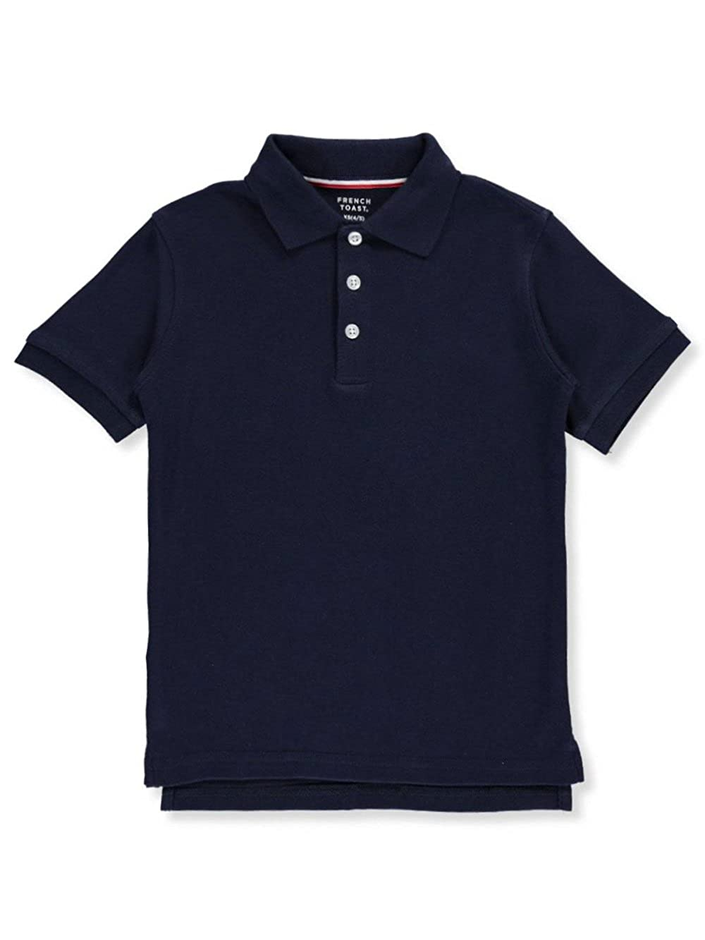 French Toast Big Boys' S/S Knit Polo Shirt