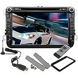 EinCar Doppio Din Autoradio 2 Din Stereo 8 pollici Android 4.2 HD auto DVD Video Player Digital TV GPS Navigatore Car DVD Player for VW Volkswagen Touran Tiguan Golf 6 MK5 Passat