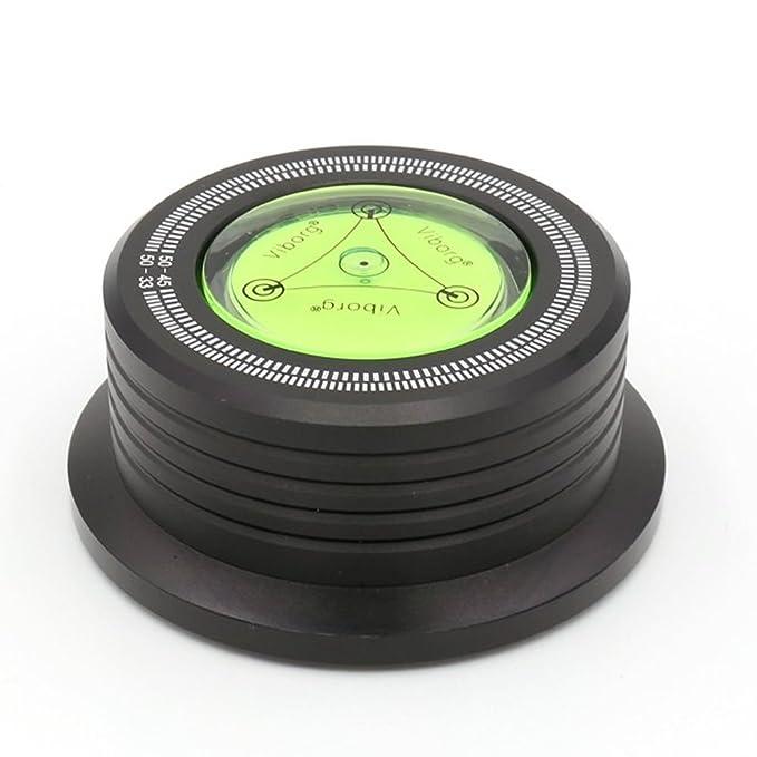 3 in 1 Clamp Estabilizador Tocadiscos Plato + Estroboscopio + ...