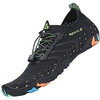 Tmaza Hombre Mujer Secado Rápido Respirable Zapatos de Agua para Vela,Kayak,Buceo,Gr 35-46