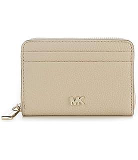 2a986f74734c93 Michael Kors Jet Set Travel Card Case Wallet Brown/Acorn at Amazon ...