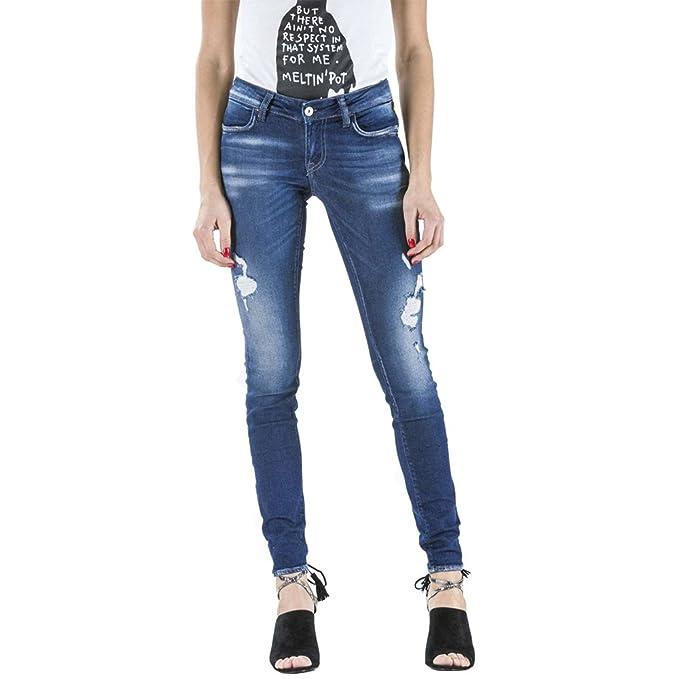 MeltinPot - Jeans Monie D0132-UB119 para Mujer, Estilo ...