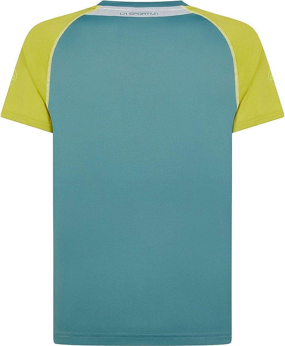 LA SPORTIVA - Camiseta para hombre, Pine-Kiwi, M: Amazon.es: Ropa y accesorios