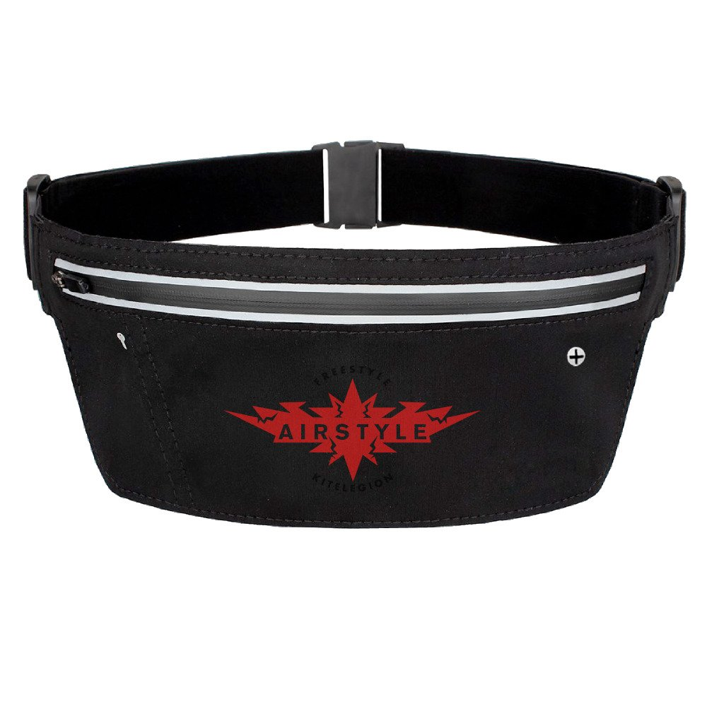 Amazon.com: Fanny Pack Water-resistant Reflective Strip Running Belt With Earphone Hole: Sports & Outdoors
