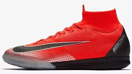 Nike SuperflyX 6 Elite CR7 - Zapatillas de fútbol para Interiores, M75W9, Rojo/