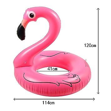 knowing Flotador inflable Flamingo,Juegos De Agua,Juguetes Inflables para Niños,Para Interior/Exterior Piscina (120cm): Amazon.es: Juguetes y juegos