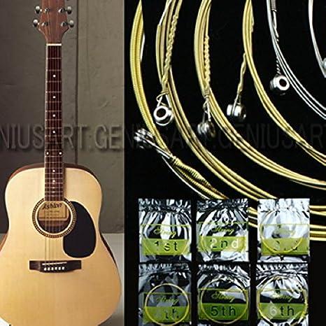 6x//set Professional Electric Guitar Strings Steel 1st-6th Guitar StrinODDE
