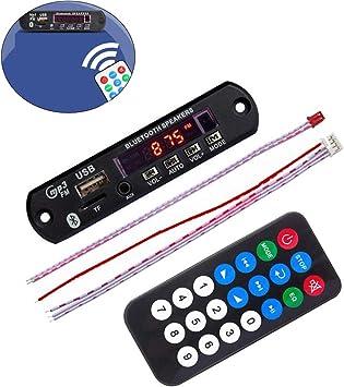Amazon.com: Bluetooth MP3 Decoding Board, Dorado^Li 12V ...