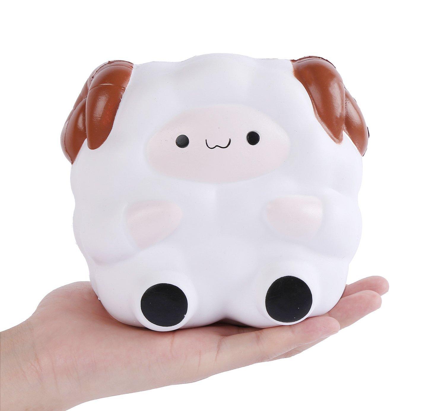 1 pz Squishy Jumbo Sheep 12cm Colossal Squishies Super Slow Rising Cute Kawaii Collezione Regalo Decor per Bambini Giocattolo