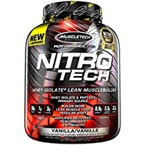 Nitro Tech Performance Series Vanilla 4lbs (1.79kg) CA