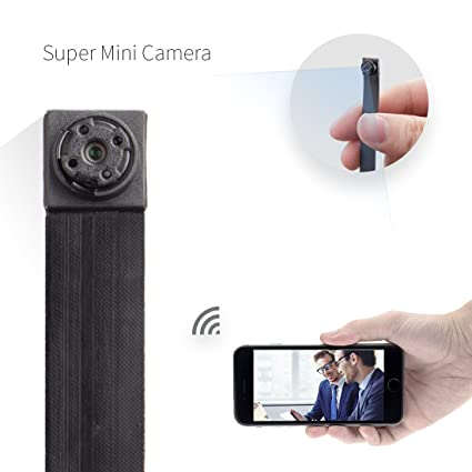 Mini cámara, Fredi HD 1080P Wifi Portátil Pequeño de red IP cámara Mini cámara P2P
