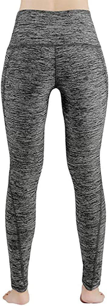 RTYou Womens Yoga Pant High Waist Running Workout Leggings with Out Pocket Tummy Control Sports Athletic Pants