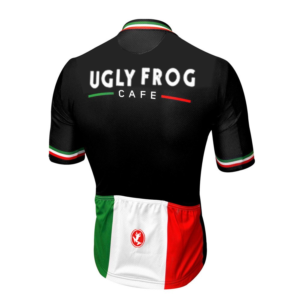Uglyfrog Completo Uomo Maglia Ciclismo Abbigliamento Estivo da Bici Manica Corta e Pantaloncini Confortevole Traspirante DXMZ01