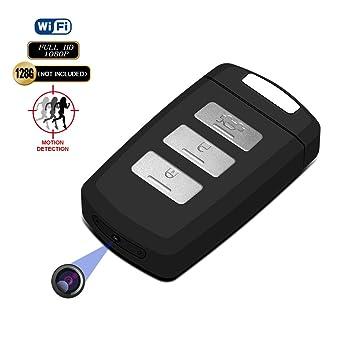 Amazon.com: Cámara Oculta DVR WIFI Llavero (fuvision 1080P ...