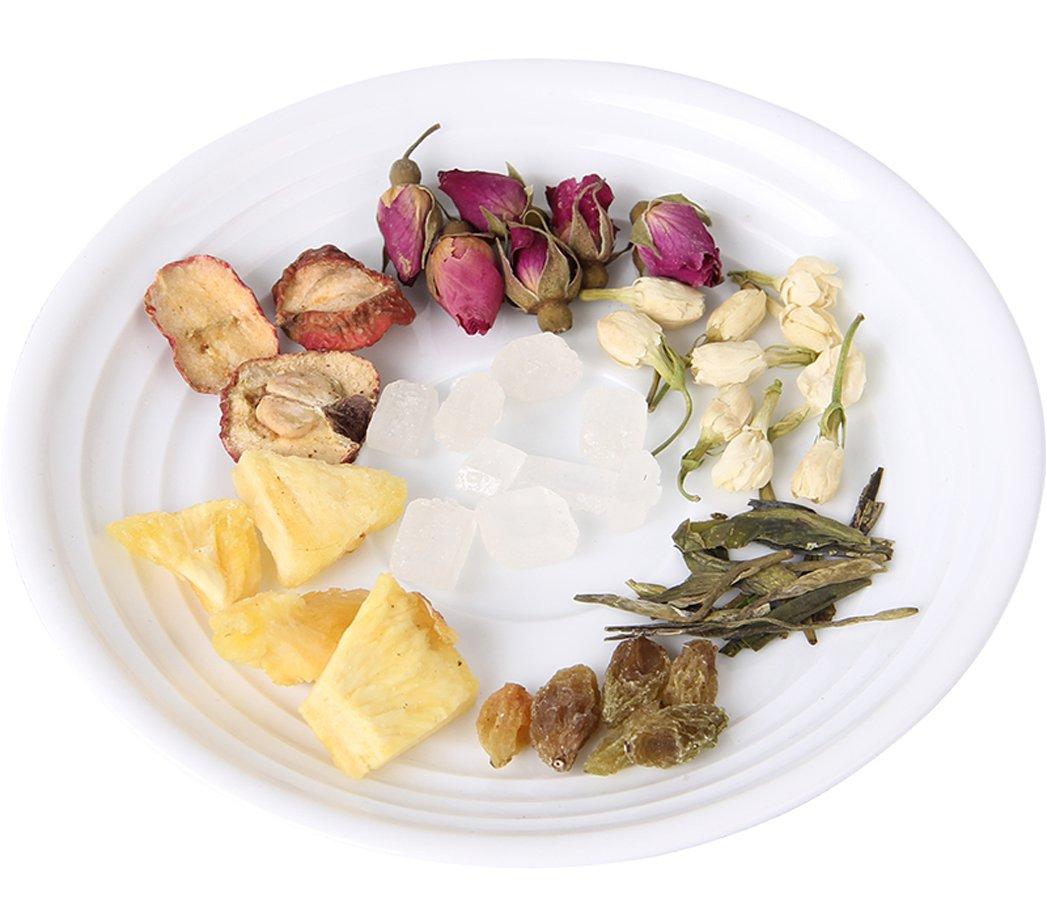 Helen Ou@ Hangzhou Specialty: Yi Jiang Nan Flower Story Fruit Tea Combination 18 Small Bags