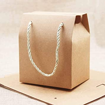 Amazon.com: BATOP Paper Favor Bag Cupcake Boxes Pink ...