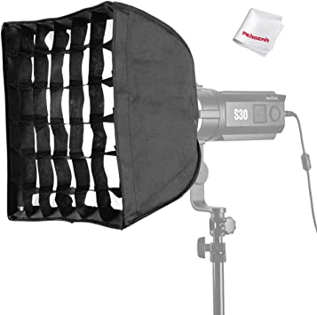 for Godox S30 Focusing LED Video Light Godox SA-P Projection Attachment with a SA-01 85MM Lens W//Pergear Cloth