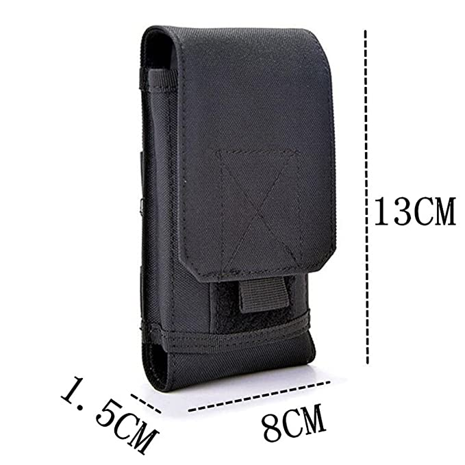 Amazon.com: Tactical MOLLE Smartphone Holster, Universal ...