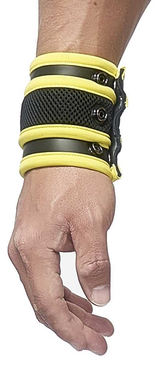 Mister B Herren Nierenwärmer 341020, Gelb (Yellow 20), One Size 8718788873243