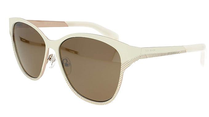 Ted Baker London - Gafas de sol - para mujer Marfil Marfil ...